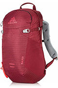 Sula 18 Backpack  Ruby Red