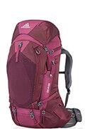 Deva 60 Backpack S Plum Red