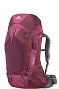 Deva 60 Zaino S Plum Red