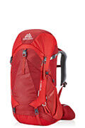 Amber 44 Backpack  Sienna Red