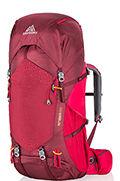 Amber 60 Backpack  Chili Pepper Red