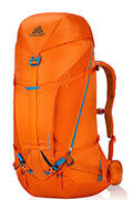 Alpinisto 50 Rucksack L Zest Orange