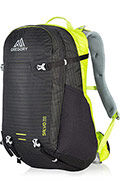 Salvo 28 Black/Macaw Green