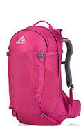 Sula 24 Backpack  Plum Red