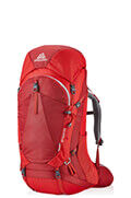 Amber 55 Backpack  Sienna Red