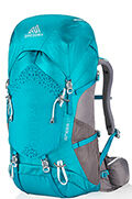 Amber 34 Backpack  Teal Grey