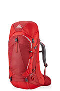 Amber 65 Backpack  Sienna Red