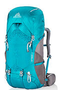 Amber 44 Backpack  Teal Grey