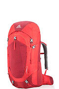 Wander 70 Backpack  Fiery Red