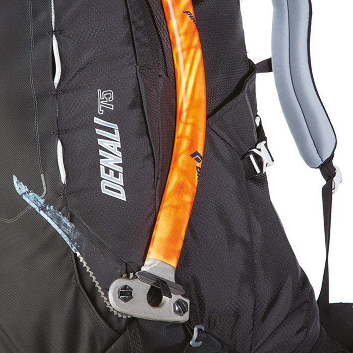Adjustable ice axe loops
