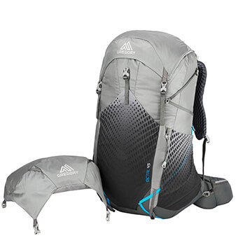 REMOVABLE TOP LID ultralight weather flap included