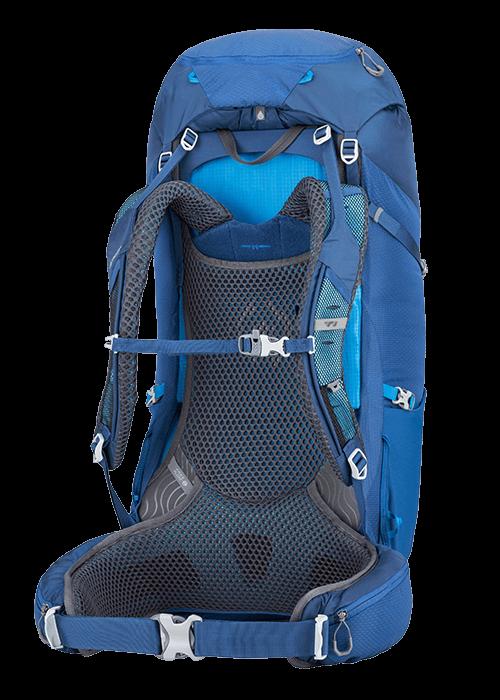 Il nuovo sistema Free Float incorpora lo schienale regolabile in lughezza nel suo pannello posteriore traspirante.
