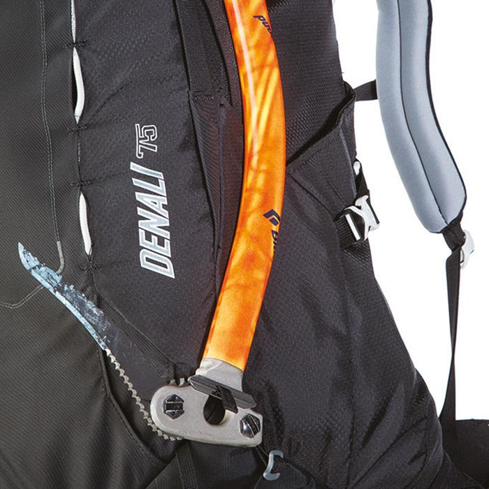 Adjustable ice axe loops
