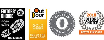 Editor's Choice | Out Door Gold Winner | Outside | Bester Rucksack