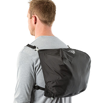 Top pocket day pack