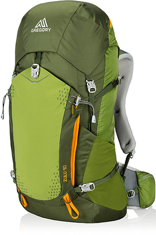 Gregory Zulu 40 L Moss Green