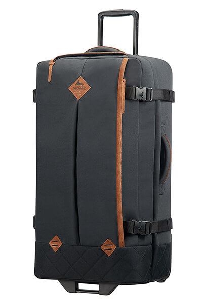Gregory Duffle with wheels L² Phantom Black