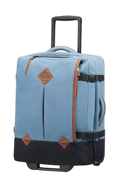 Gregory Duffle with wheels S² Denim Blue
