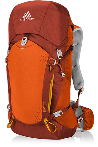 Gregory Zulu 35 L Burnished Orange